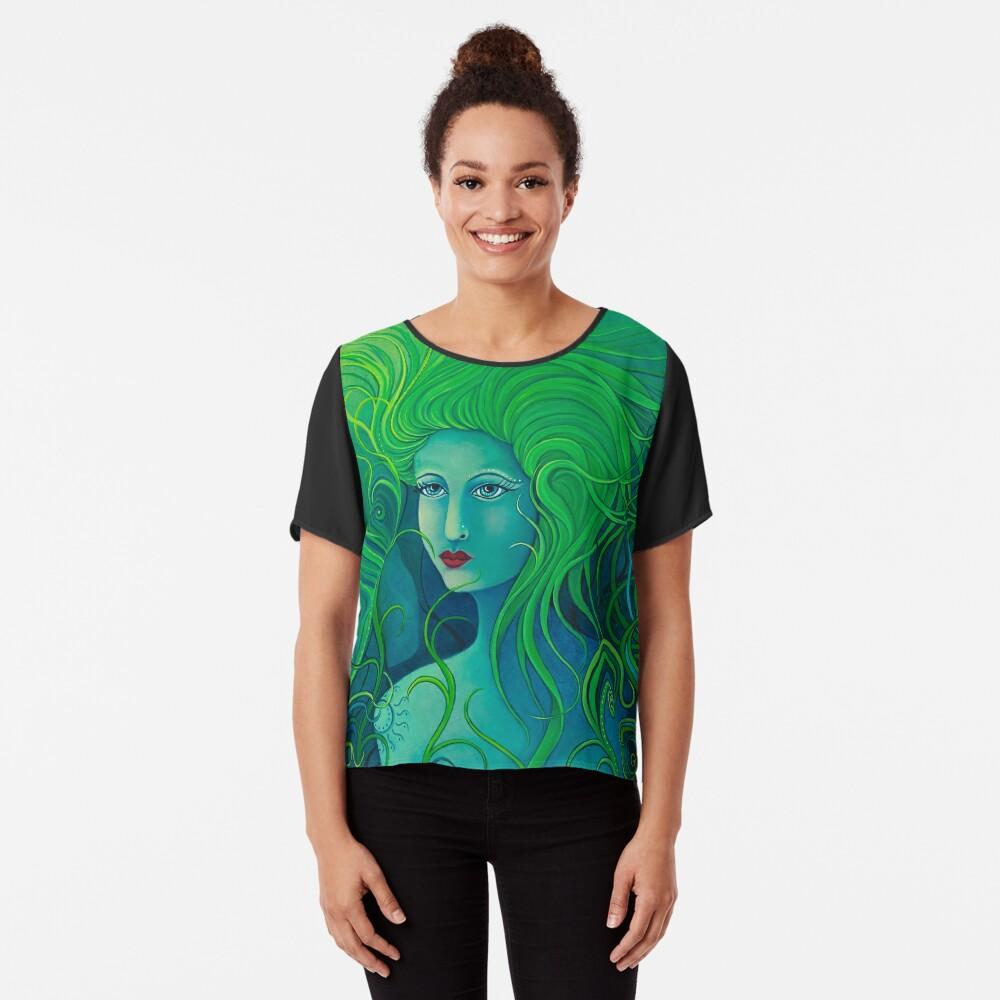 Forest Goddess Chiffon Top