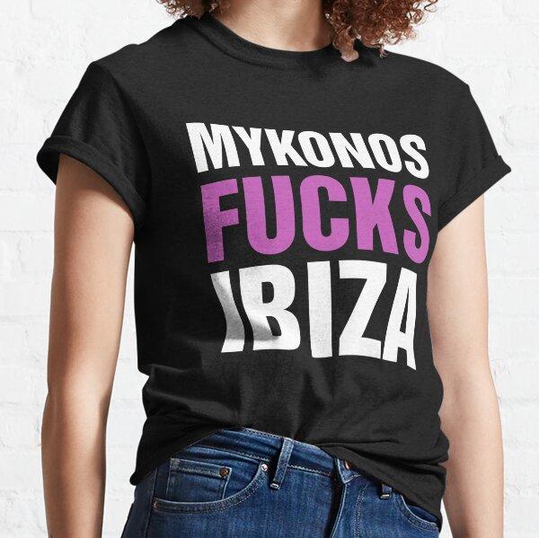 Mykonos fucks Ibiza - Dark Classic T-Shirt