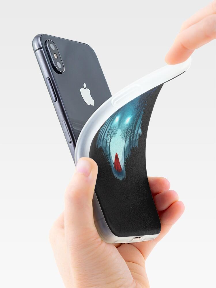 Alternative Ansicht von Großer böser Wolf (dunkle Version) iPhone-Hüllen & Cover