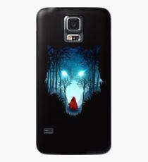 Funda/vinilo para Samsung Galaxy Big Bad Wolf (versión oscura)