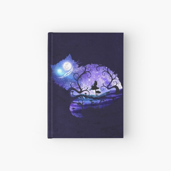 We are all mad here Hardcover Journal