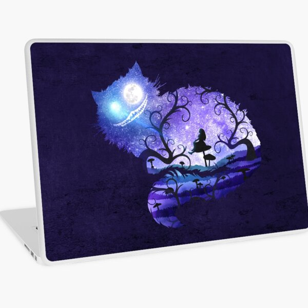 We are all mad here Laptop Skin