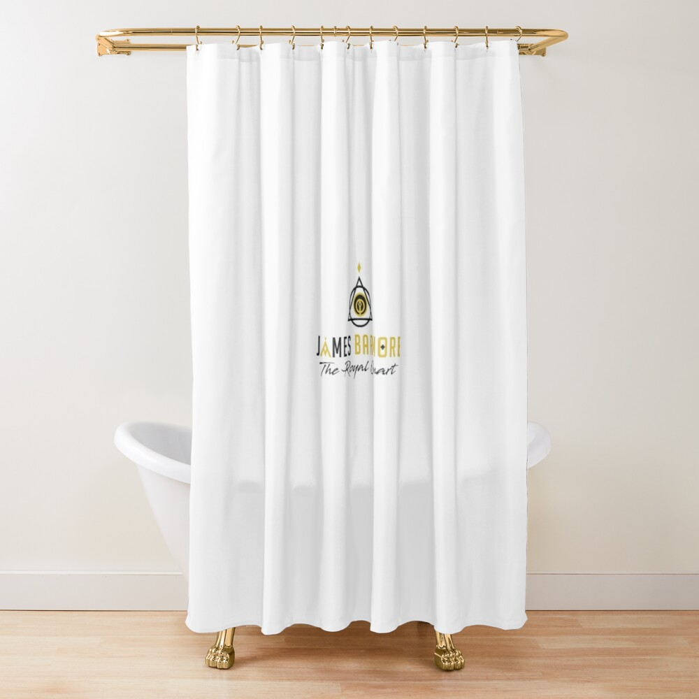 James Barmore & The Royal Quart Shower Curtain