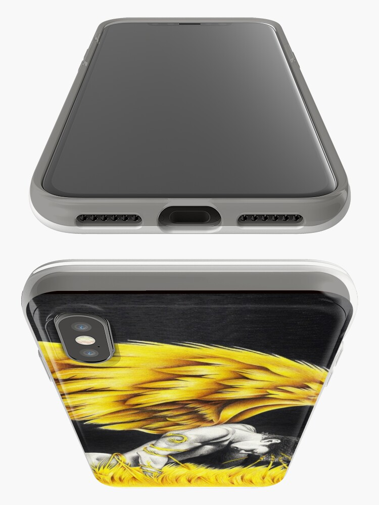 Alternate view of Fallen love iPhone Cases & Covers