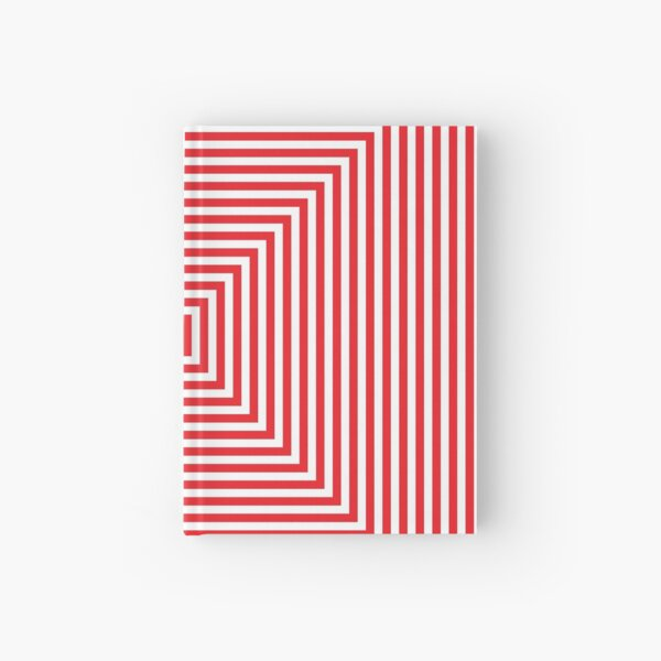 #Pattern, #design, #abstract, #art, illustration, square, illusion, paper, decoration Hardcover Journal