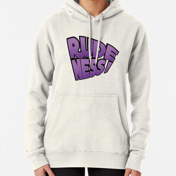 Rudeness Logo Pullover Hoodie