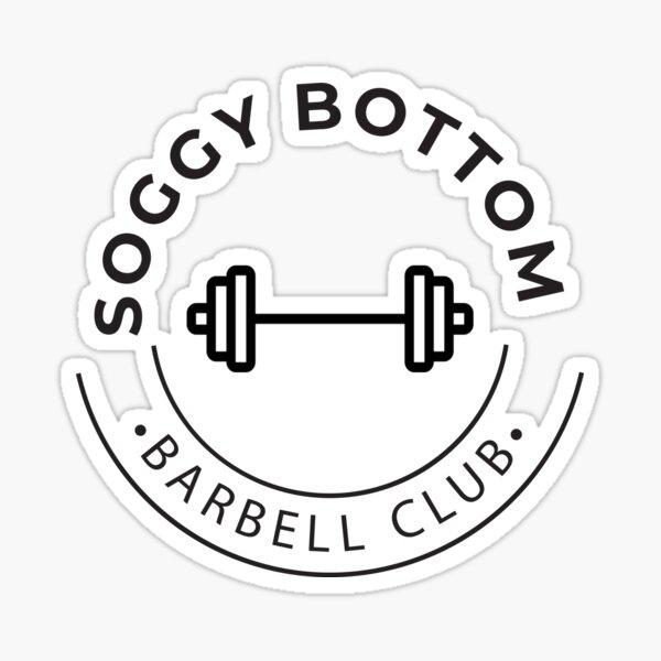 Soggy Bottom Barbell Club Sticker
