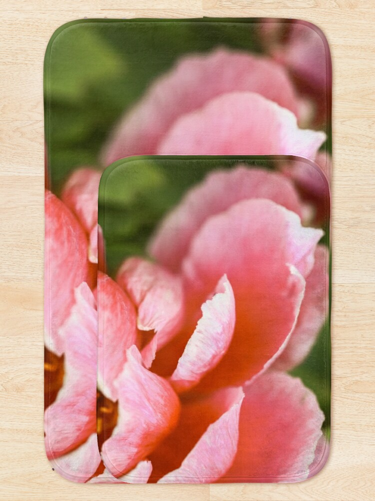 Alternate view of Pink Peony Bath Mat