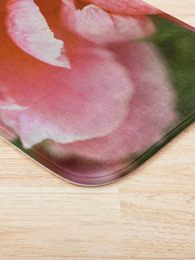 Alternate view of Pink Peony Bath Mat
