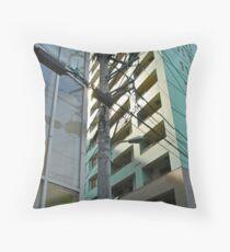 Tokyo Streetscape Throw Pillow