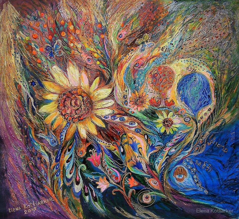 The Sunflower by Elena Kotliarker