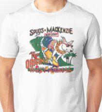 Spuds Mackenzie (80's Throwback) Slim Fit T-Shirt