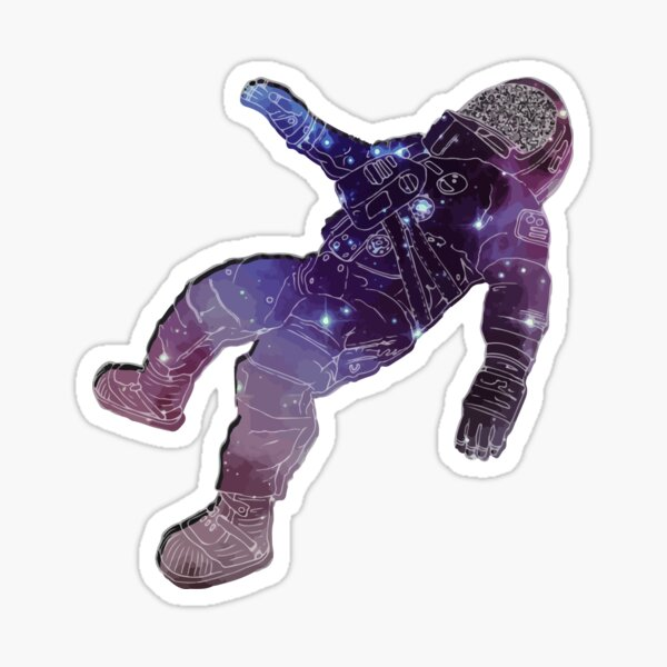 The Blue Stones Band Astronaut - Black Holes Album Sticker