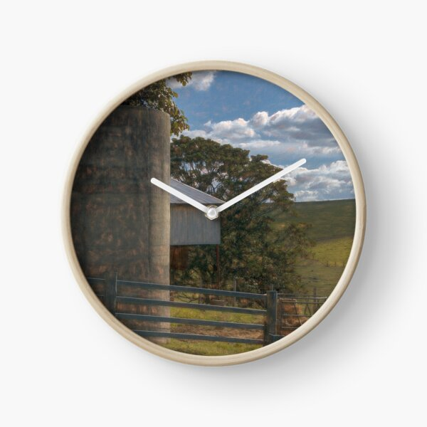 Silo Painterly Clock