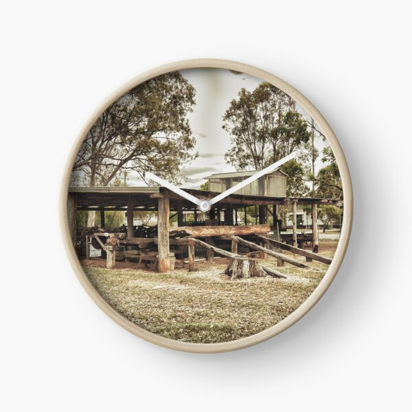 Bullock Wagon Shed Clock