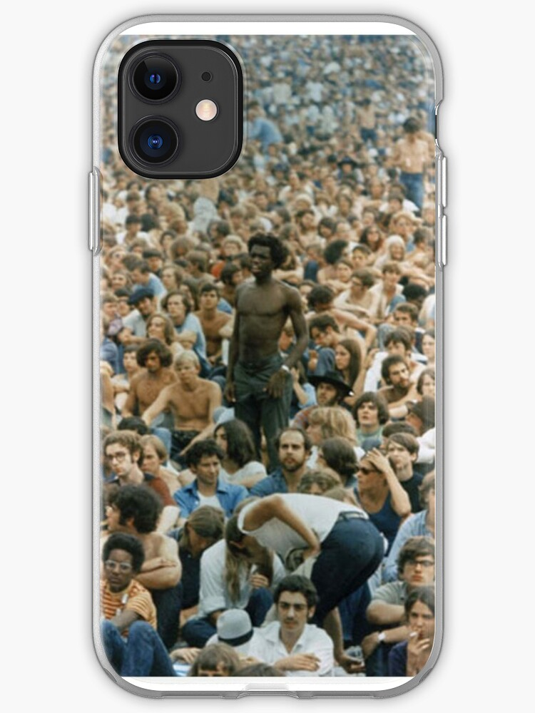 Woodstock 1969 iPhone 11 case