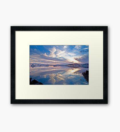 Belmont reflections Framed Print