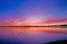 Lake Sunset by Liz Percival