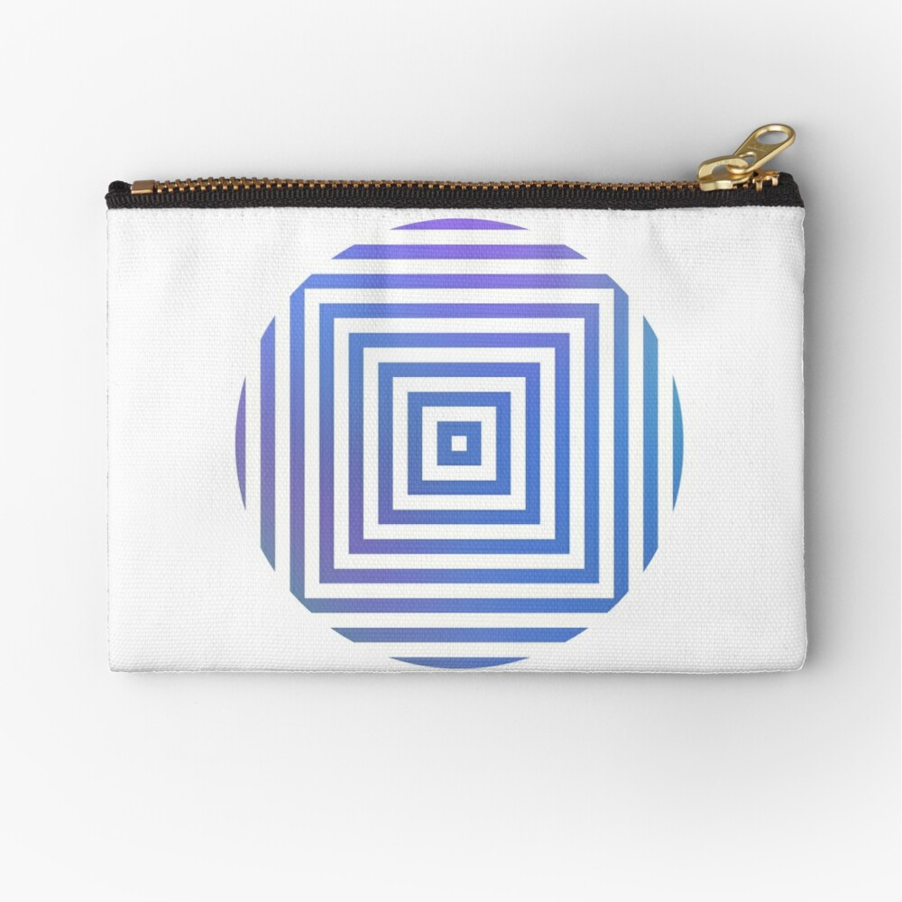#Hypnosis #Hypnotic Image #HypnosisImage #HypnoticImage Zipper Pouch