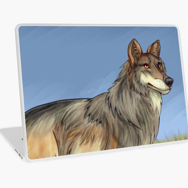 Mexican Wolf Laptop Skin