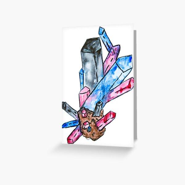 Polyamory Pride Crystal Greeting Card