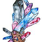 Polyamory Pride Crystal von Kendra Kantor