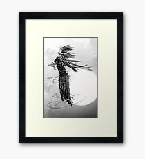 moon goddess Framed Print
