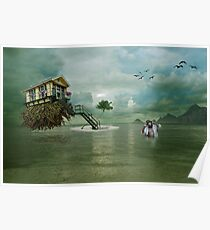 Beachhouse Poster
