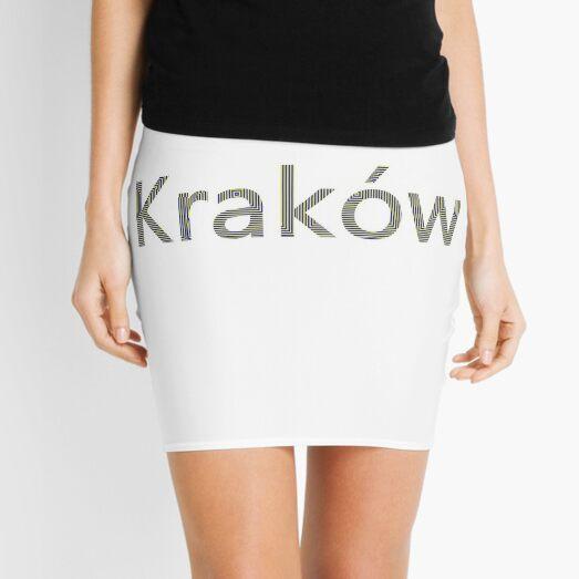 Kraków (Cracow, Krakow), Southern Poland City, Leading Center of Polish Academic, Economic, Cultural and Artistic Life Mini Skirt