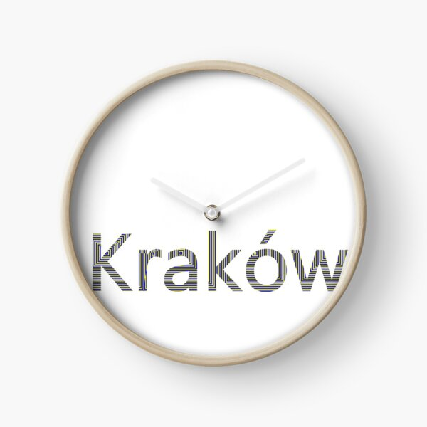 Kraków (Cracow, Krakow), Southern Poland City, Leading Center of Polish Academic, Economic, Cultural and Artistic Life Clock