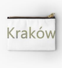 Kraków (Cracow, Krakow), Southern Poland City, Leading Center of Polish Academic, Economic, Cultural and Artistic Life Zipper Pouch