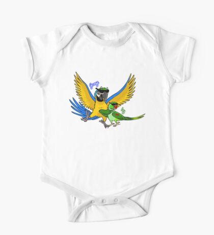 George and Ivy Parrots Kids Clothes
