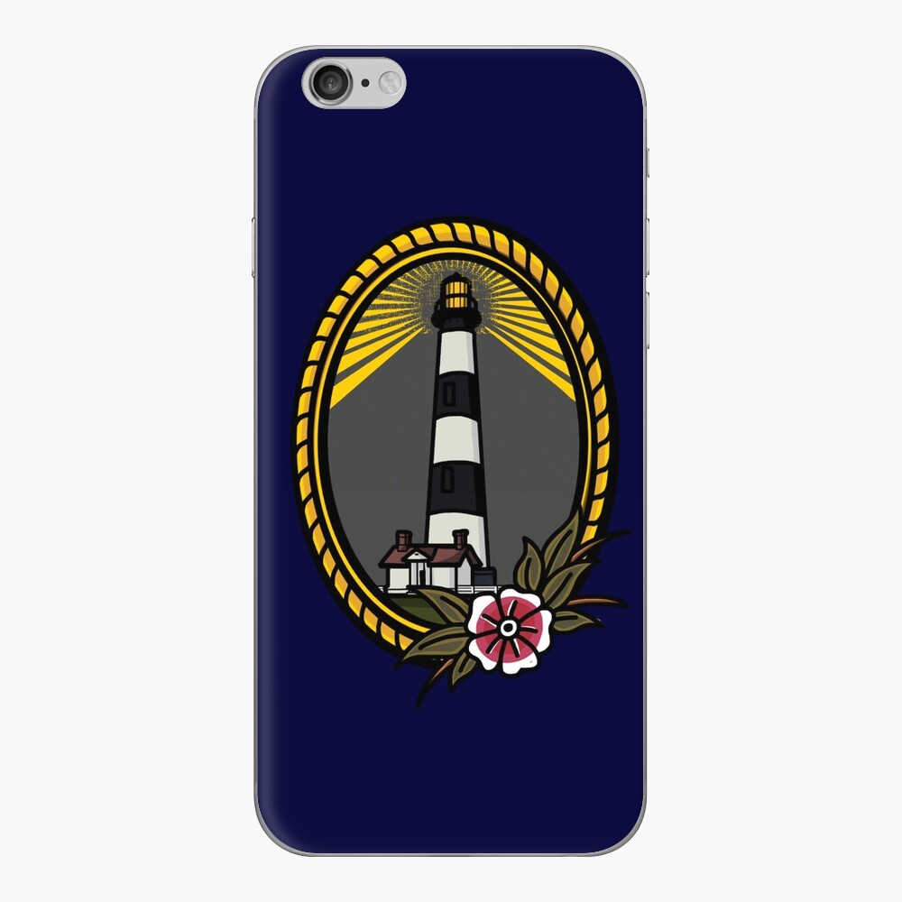 Lighthouse Series: Bodie Island iPhone Skin