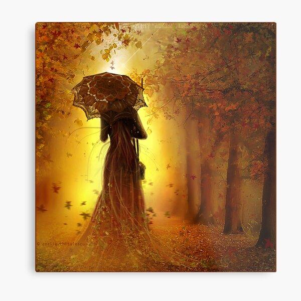 be my autumn     Metal Print