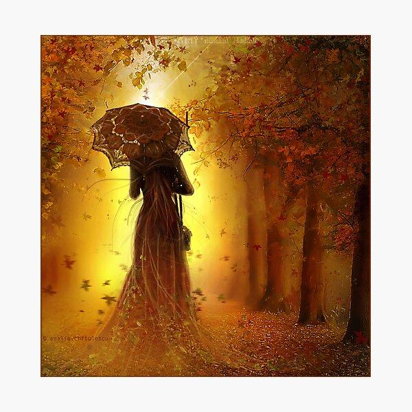 be my autumn ||  Photographic Print