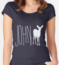 Max's Shirt - John Doe Women's Fitted Scoop T-Shirt