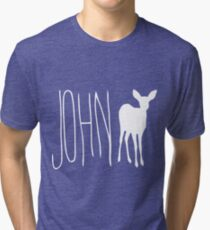Max's Shirt - John Doe Tri-blend T-Shirt