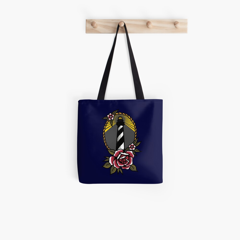 Lighthouse Series: Cape Hatteras Light Tote Bag