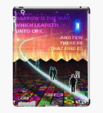 MATTHEW 7:14 - NARROW IS THE WAY iPad Case/Skin