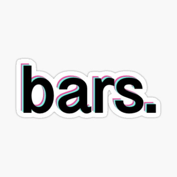 """Bars."" -Cody Ko Sticker"