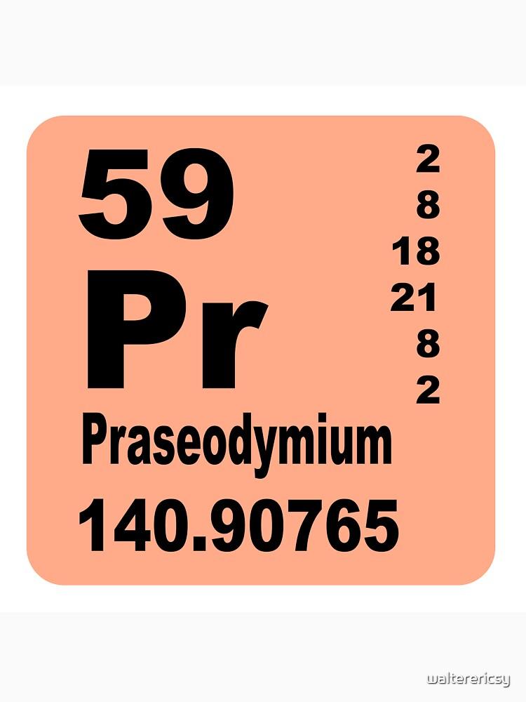 Camisetas y sudaderas tabla peridica de elementos de praseodimio tabla peridica de elementos de praseodimio urtaz Images