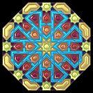Octagon, Islamic geometry by Girih