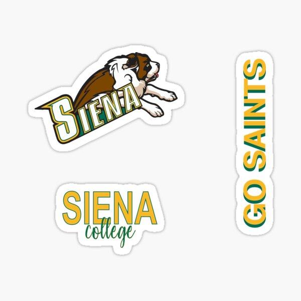 Siena College Sticker Package Sticker