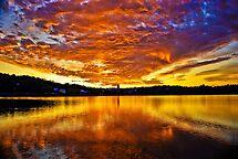 Burning sky by LudaNayvelt