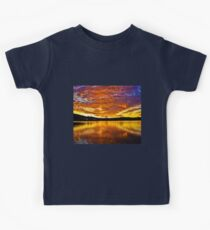 Burning sky Kids Clothes
