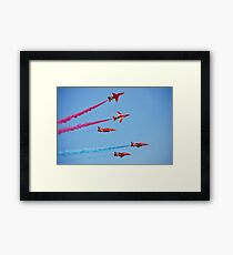 RAF The Red Arrows Framed Print