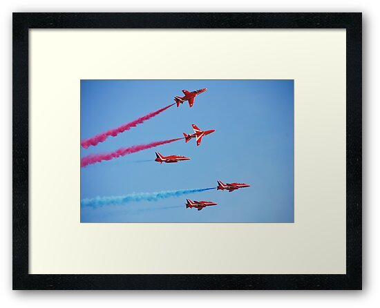 RAF The Red Arrows by David Fowler