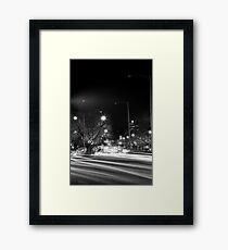 """Melbourne - """"Streetscape"""" #4 Framed Print"""