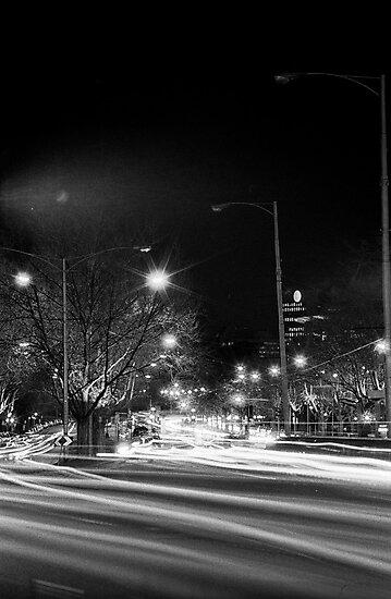 "Melbourne - ""Streetscape"" #4 by Belinda J Bennett"