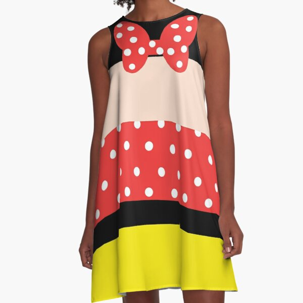 OH MY GOODNESS! Mini Mouse A-Line Dress